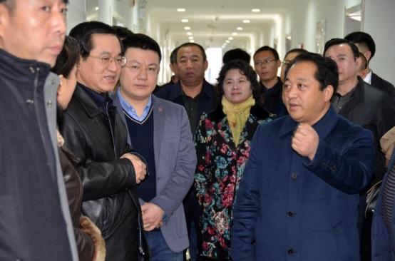 大同市委常委组织部长宋涛带队来互联网+服务产业园考察入驻企业